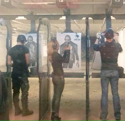hdawg ????‏  @RealSmarticus  Replying to @MelanieScrofano @realtimrozon I took @PaulRogerAmos @KrisHolden_Ried and @KseniaSolo to my gun range and  after they walked out a #LostGirl promo came on @SyFy and the staff was all WHAAAAAATTTT?! ????